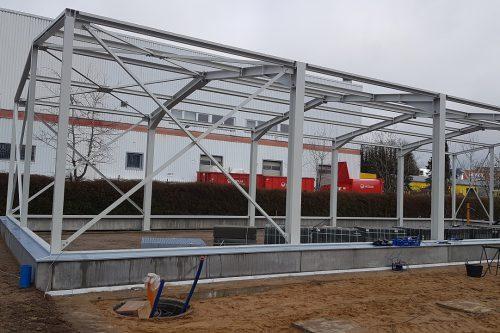 Nieuwbouw Boels verhuurcentrum Norderstedt 1