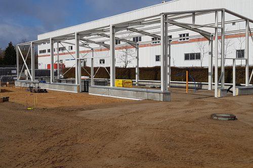 Nieuwbouw Boels verhuurcentrum Norderstedt 2