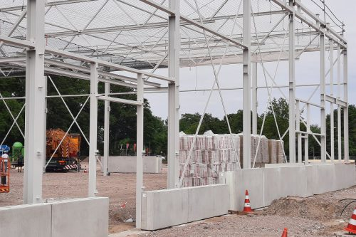 Voortgang fase 1 Baumarkt Hornbach Enschede